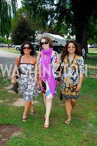 Andrea George, Alina Zhuvskaya, Nicole Khan, Photo by Kyle Samperton