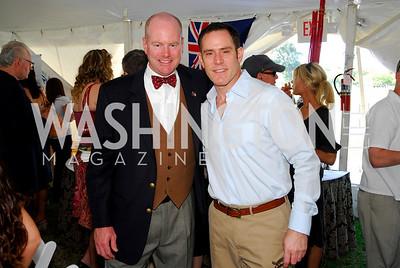 Glen Sutcliffe, Greg Busch, Photo by Kyle Samperton