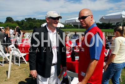 Tareq Salahi & Lt. Scott Fear, Photo by Kyle Samperton