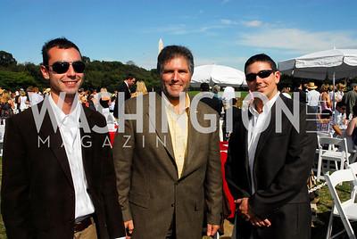 Nick Szabo, Andy Palmisano, Jason Goldberg, Photo by Kyle Samperton