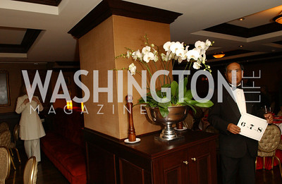 Dining room  Buffy and Bill Cafritz host a party marking the opening of the newly refurbished Jockey Club in the Fairfax Hotel in Washington, DC on Thursday, November 20, 2008.  (James R. Brantley)