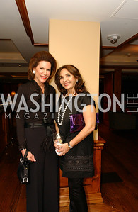Ambassador Nancy Brinker, Samia Farouki  Buffy and Bill Cafritz host a party marking the opening of the newly refurbished Jockey Club in the Fairfax Hotel in Washington, DC on Thursday, November 20, 2008.  (James R. Brantley)