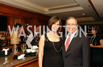 Beth and Ron Dozoretz  Buffy and Bill Cafritz host a party marking the opening of the newly refurbished Jockey Club in the Fairfax Hotel in Washington, DC on Thursday, November 20, 2008.  (James R. Brantley)