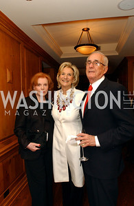 Buffy Cafritz, Nancy Rubin, Miles Rubin  Buffy and Bill Cafritz host a party marking the opening of the newly refurbished Jockey Club in the Fairfax Hotel in Washington, DC on Thursday, November 20, 2008.  (James R. Brantley)