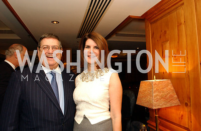 Ken and Jacqueline Duberstein  Buffy and Bill Cafritz host a party marking the opening of the newly refurbished Jockey Club in the Fairfax Hotel in Washington, DC on Thursday, November 20, 2008.  (James R. Brantley)