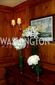 Flowers and nautical motif  Buffy and Bill Cafritz host a party marking the opening of the newly refurbished Jockey Club in the Fairfax Hotel in Washington, DC on Thursday, November 20, 2008.  (James R. Brantley)
