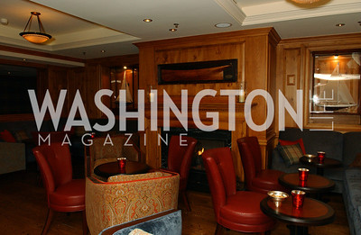 Jockey Club decor and nautical motif  Buffy and Bill Cafritz host a party marking the opening of the newly refurbished Jockey Club in the Fairfax Hotel in Washington, DC on Thursday, November 20, 2008.  (James R. Brantley)