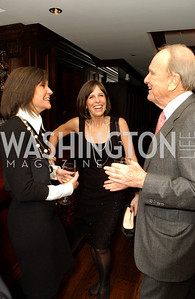 Capricia Marshall, Beth Dozoretz, George Stevens, Jr.  Buffy and Bill Cafritz host a party marking the opening of the newly refurbished Jockey Club in the Fairfax Hotel in Washington, DC on Thursday, November 20, 2008.  (James R. Brantley)