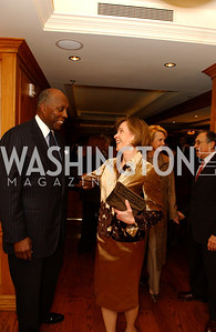 Vernon Jordan, Eden Rafshoon, Gahl Burt, Ron Dozoretz  Buffy and Bill Cafritz host a party marking the opening of the newly refurbished Jockey Club in the Fairfax Hotel in Washington, DC on Thursday, November 20, 2008.  (James R. Brantley)