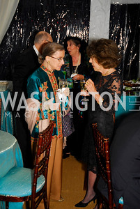 Ruth Bader Ginsburg, Dede Cutler  Photo by Kyle Samperton