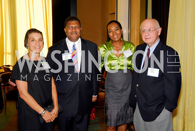 Ina Sandalow, Wayne Curtis, Dina Curtis, Terry Clancy,  Photo by Kyle Samperton