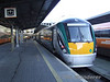 On Monday 4th February 2008 another Mk3 link was replaced by 22000 DMU's. One of the services affected was the 1525 Heuston - Limerick which is seen shortly before departure from Heuston on Wednesday 6th February 2008.