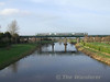 22015 crosses the Barrow Bridge at Monastervin with the 1415 Limerick - Heuston. Sat 09.02.08