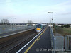 A few mins later, sister unit 22014 passes Monastervin station with the 1525 Heuston - Limerick. Sat 09.02.08