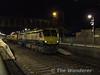 A rushed shot of ex-works 232 leaving Portarlington on the 1725 Heuston - Limerick, 6 Mk3. Thurs 07.02.08