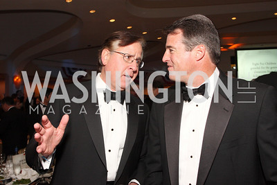 howard fineman,  doug gansler, Photo by Tony Powell