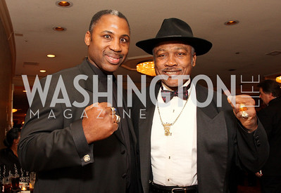 Marvis Frazier, Joe Frazier, Photo by Tony Powell,