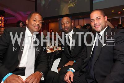 Antonio Hunter, Eric Richardson, Brett Green, Photograph by Tony Powell