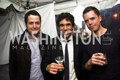 Antonio Trias, Jaime Llorca, David Whittenburg, Photo by Betsey Spruill Clarke