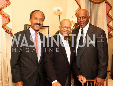frank raines, riley temple, vernon jordan, Photograph by Tony Powell