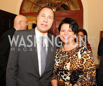 ken marks, debra lee, Photograph by Tony Powell