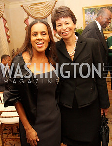 kai milla, valerie jarrett, Photograph by Tony Powell