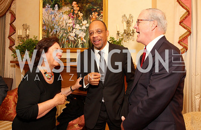 Ann Jordan, Eugene Robinson, James Johnson,Photograph by Tony Powell