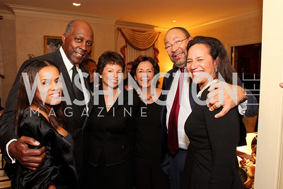 kai milla, vernon jordan, valerie jarrett, ann parsons, richard parsons, Photograph by Tony Powell, Photograph by Tony Powell