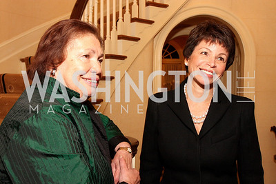 clarice dibble walker, valerie jarrett, Photograph by Tony Powell