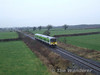 2606 + 2615 pass Shanderry with the 0740 Manulla Junction - Connolly DMU transfer. Sat 19.01.08