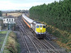 071 passes Cherryville Jct with the 1130 Galway - Heuston with one of the few remaining Mk2d sets. Sun 13.01.08