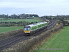 "29021 passes Cherryville with the 1210 Heuston - Galway ""Express"" service. Sun 13.01.08"