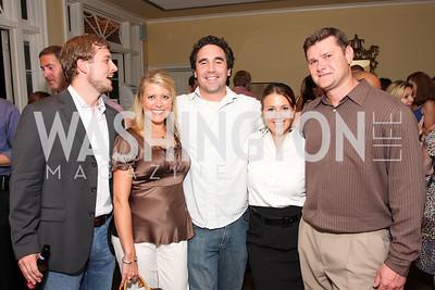Kyle Schultz, April Del Favero, Shane Miller, Jessica Griscavage, Jason Griscavage, Photo by Tony Powell