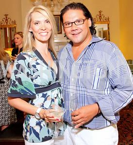 Kim Becker, Ray Regan, Photo by Tony Powell
