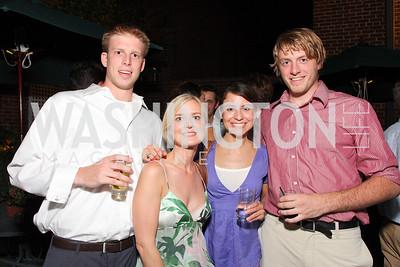 John Clark, Christina Wenzel, Melissa Canadas, Andrew Prezkop, Photo by Tony Powell