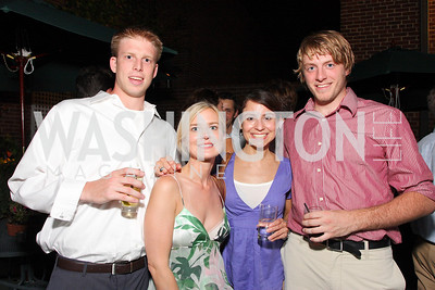 John Clark, Christina Wenzel, Melissa Canadas, Andrew Prezkop, Photo by Tony Powell