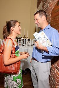 Sarah Hamilton, Steve Andronico, Photo by Tony Powell