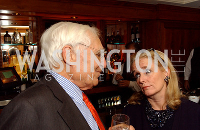 Walter Pincus, Debbie Dingell  (James R. Brantley)