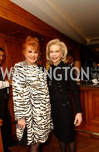 Georgette Mosbacher, Lynn Wyatt  (James R. Brantley)