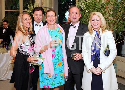 Cleo Gewirz, Paul Colby, Courtney Burnham, Chris Burnham  Photo by Tony Powell