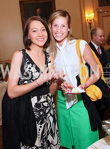 Katie Berky, Adrienne Schweer,  Photo by Tony Powell