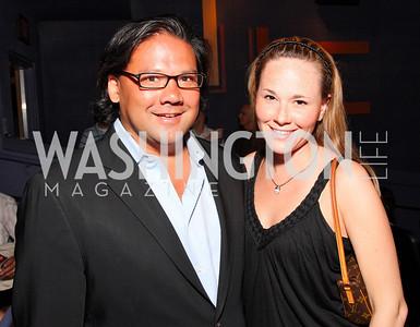Kimberly Martin, Ray Regan,  Photo by Tony Powell