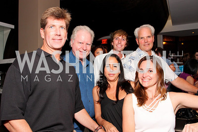 Jonathan Taylor, Stan Flint, Patrick Rhodes, Diana Black, Jennifer Hammond White,  Photo by Tony Powell