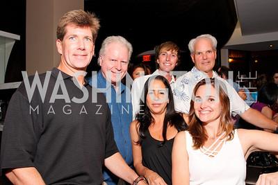 Jonathan Taylor, Stan Flint, Patrick Rhodes, Diana Black, Jennifer Hammond White,  Photo by Tony Powell