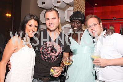 Mary Ann Ghareeb, Hanna Chakarji, Nunu Deng, Henning Jakob,  Photo by Tony Powell