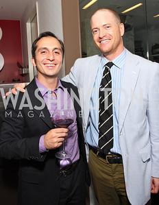 Amir Afkhami, John Hanshaw, Photo by Tony Powell