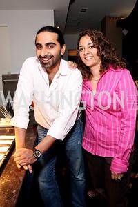 Bharet Malhotra, Nisha Sidhu, Photo by Tony Powell