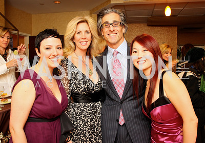 pegg hoffman, michelle schoenfeld, phil schoenfeld, jenny luu Photo by Tony Powell