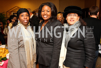 sheila mckinney, sharon mcdaniel johnson, elizabeth cox Photo by Tony Powell