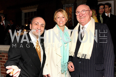 ado garmirian, cathy wynne, paul garmirian, Photo by Tony Powell